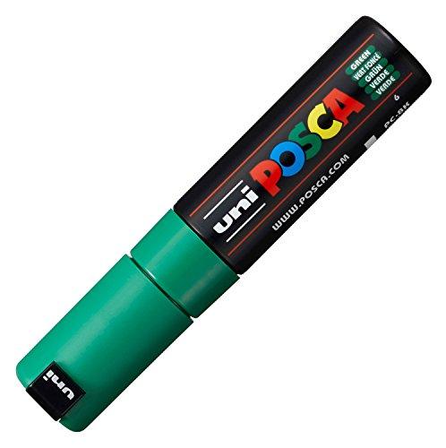 Uni-Ball 720381 - Marcador permanente, color verde