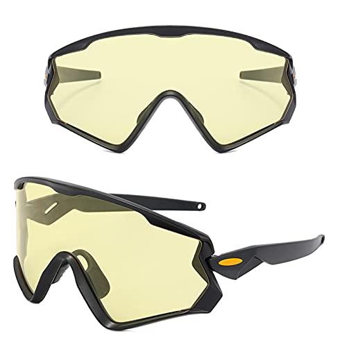 ACJB Gafas de montar en bicicleta para deportes al aire libre para hombre y mujer, gafas de ciclismo, béisbol, correr, pesca, esquí, correr, golf, conducción