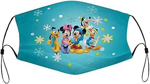 Hirola Disney Mickey Mouse - Mascarillas reutilizables lavables y...