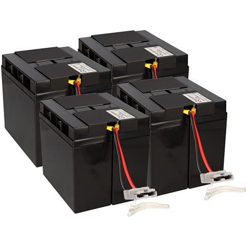 WSB Batteria di ricambio per Smart-UPS 5000VA – SUA5000RMI5U Plug & Play...