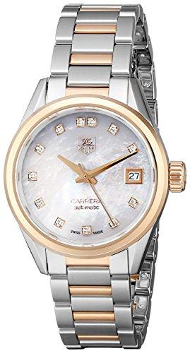 Tag Heuer Carrera Damen-Armbanduhr war2452. bd0772