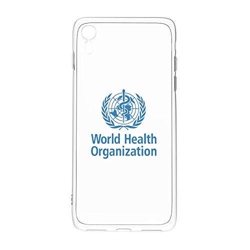iphone XR ケース 世界保健機関 グッズ スマホ アイフォンケース シェル ストラップ おしゃれ IMD高品質TPU かわいい かっこいい フィギュア ソフト 耐衝撃 レンズ保護 脱着簡単 指紋防止 スリム 軽量 傷防止