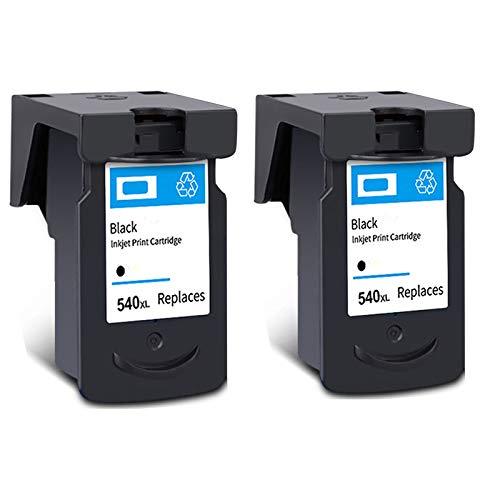 PG-540XL CL-541XL Cartucho de tinta, reemplazo de alto rendimiento para Canon PIXMA MG2250 MG3150 MX375 MX395 MX515 TS5150 TS5151 Impresora Negro y Tri-Color 2 Black