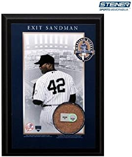 Mariano Rivera Exit Sandman Plaque with MLB Authenticated Dirt