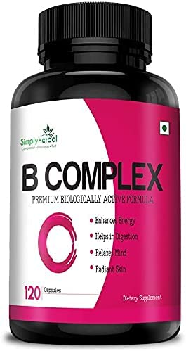 Now on sale Panihari Max 74% OFF Simply Herbal Vitamin B Complex B12 B2 B1 Vitamins
