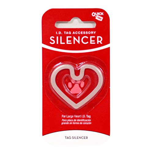 Quick-Tag Heart-Shaped Silencer