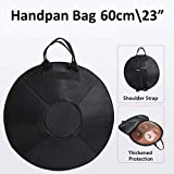 Handpan Padded Backpack 60cm(23') Steel Hung Pan Drum Carry & Storage Cover Protective Soft Case