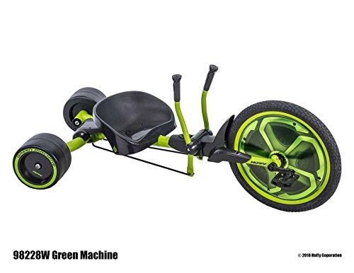 Huffy Green Machine 20pulgadas Drift Trike Triciclo + 8años Drifter Drift RUTSCHER Kart de los Estados Unidos