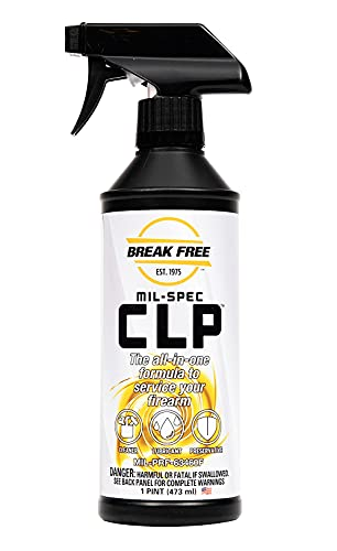 BreakFree 1009237 CLP-5 Cleaner Lubricant Preservative with Trigger Sprayer, 16 Oz