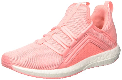 Puma Damen Mega NRGY Knit WN's Fitnessschuhe, Pink (Soft Fluo Peach White), 41 EU