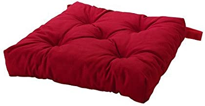Ikea Malinda Chair Cushion, Chair Pad, Red Set of 4
