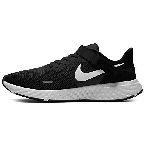 Nike Revolution 5 FLYEASE, Zapatillas para Correr Hombre, Black White Antracita, 40.5 EU