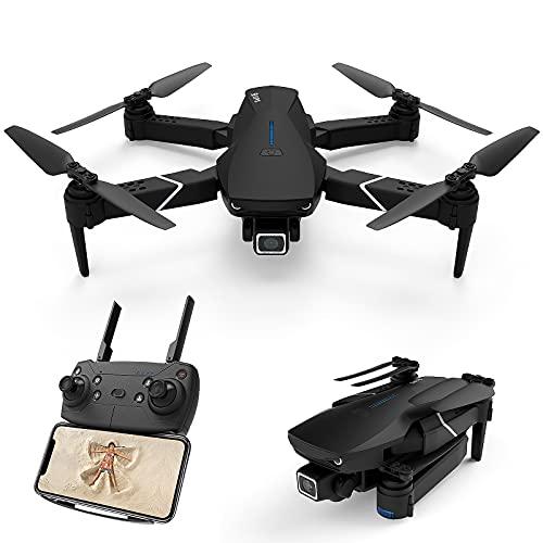 Drone avec caméra 4K HD GPS 5G-WIFI FPV Quadcopter Ultraléger Pliable, 2 Axes Gimbal avec Caméra 4K, 250 m FPV Live, grand angle 120°, QuickShots avec App