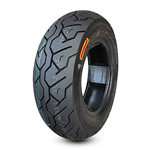 Neumáticos para scooter eléctrico, neumáticos de vacío antideslizantes resistentes al desgaste 130 / 90-10, neumáticos para motocicletas eléctricas de servicio pesado sensibles y fáciles de manejar,