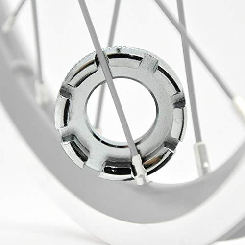 WIKEA 6 tamaños en 1 Bicicleta Llave de radios de Bicicleta