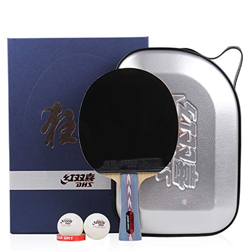 Check Out This DHS Professional Ping Pong Paddle, Advanced Training Table Tennis Racket, for Tournam...