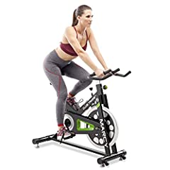 EXCELLENT CARDIO WORKOUT – The Marcy Club Revolution Cycle Trainer is a piece of indoor equipment that allows you to experience an intense cardio workout even in a stationary position. ERGONOMIC SEATING – The ergonomic design offers optimum comfort a...
