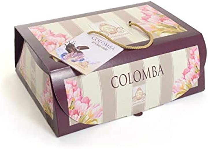Colomba pasquale 1 kg colomba artigianale ricetta tradizionale (colomba cioccolato con astuccio)- agroalimenta B08WLWX1KS