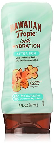 Hawaiian Tropic Silk Hydration Moisturizing Sun Care After Sun Lotion - Coconut Papaya, 6 Ounce