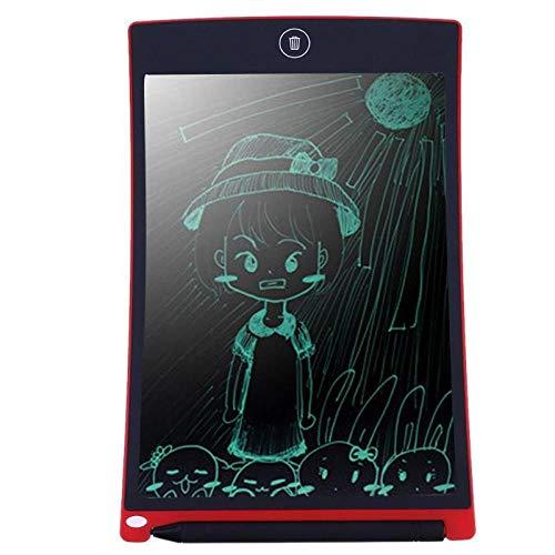 Schrijven Board voor Kinderen 8.5 Inch LCD Schrijven Tablet Pc Tablet R Kladblok Rood