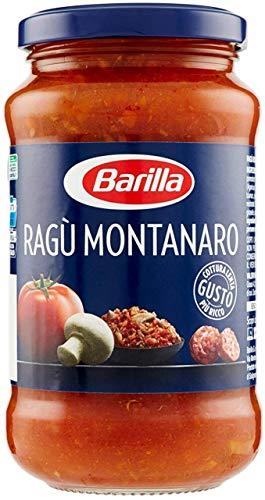 12x Barilla Ragù Montanaro pastasauce tomatensauce mit Pilze 400g aus italien