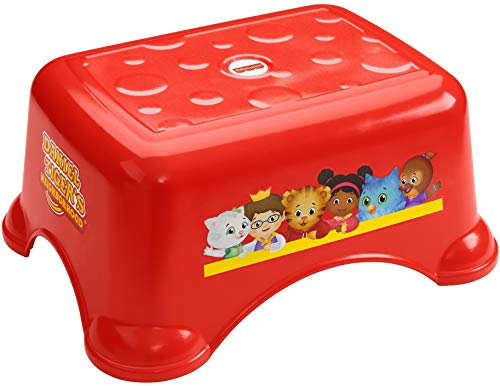 FisherPrice Daniel Tiger#039s Neighborhood Stepstool  Daniel Tiger Themed Toddler Step Stool for Bathroom