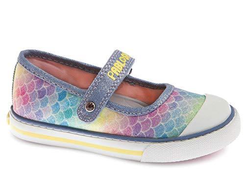 Zapatillas De Lona Niña Pablosky Azul 962411 26