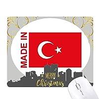 トルコ国の愛で クリスマスイブのゴムマウスパッド