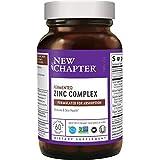 Zinc Supplement – Once Daily – New Chapter Fermented Zinc Complex...
