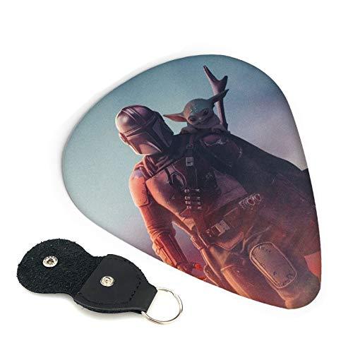 Púas de guitarra de Star Wars, para ukelele, 0,71 mm, coloridas púas para accesorios de instrumentos musicales