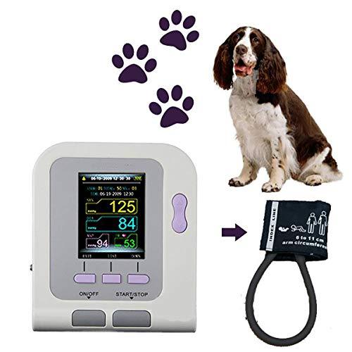 LWQ Vétérinaire Usage vétérinaire Moniteur de Pression artérielle numérique, PNI + Brassard + Logiciel