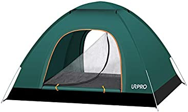URPRO 2-3 Persons Instant Automatic pop up Camping Tent, Lightweight Tent, Waterproof Windproof, UV Protection, Beach, Outdoor, Traveling,Hiking,Camping, Hunting, Fishing