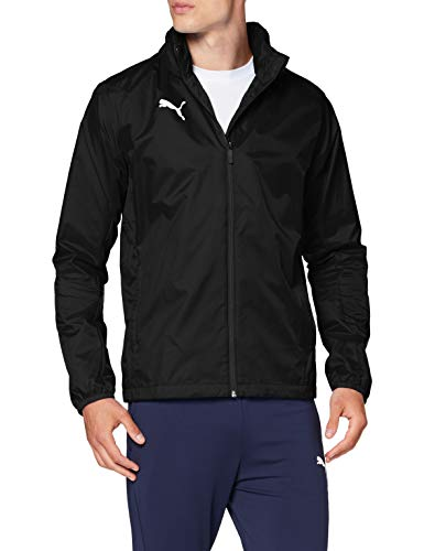 PUMA Herren Liga Training Rain Jacket Core Black White, L
