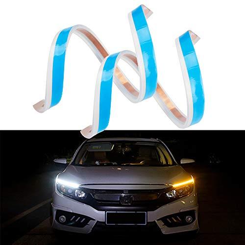 MIHAZ LED Daytime Running Light Strips