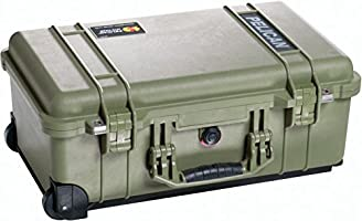 Pelican 1510 Case With Padded Dividers (OD Green), Olive Green (015100-0040-130)