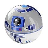 LAZERBUILT SPSW-R2D2 Star Wars Mini Haut-Parleur Portable Filaire  - Personnage R2D2 – Batterie Rechargeable Intégrée - Compatible avec smartphones, lecteur MP3, iPods