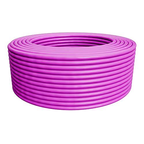 HB-DIGITAL 25m cat.7A Netzwerkkabel LAN Verlegekabel AWG 23/1 Lila Cable cat 7 Kupfer Profi S/FTP PIMF LSZH Halogenfrei RoHS-Compliant Cat7a cat.7 a Ethernet Datenkabel 10Gbit 1000MHz 10 Gigabit