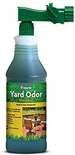 NaturVet – Yard Odor Eliminator – Eliminate Stool and Urine Odors from Lawn and Yard..