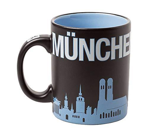 TSV 1860 München Tasse, Becher Skyline München ist Blau