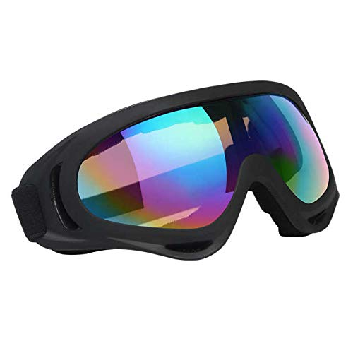Vicloon Unisex Snow Goggles Windproof 100% UV Protection, Cycling...
