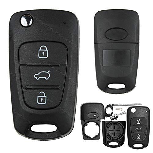 2 Custodie per chiavi auto HYUNDAI i10 i20 i30 ix35 Elantra KIA Cee'd Picanto Rio