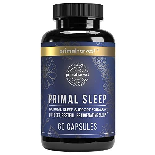 Natural Sleep Aid by Primal Harvest, Primal Sleep...