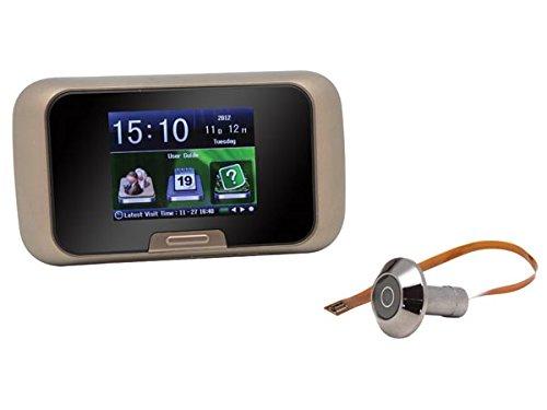Mirilla digital con monitor LCD