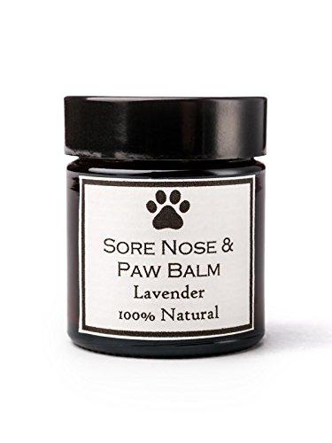 Clovelly Soap Co. Natürliche handgemachte Hundenase & Pfote Hautbalsam Lavendel für alle Rassen 30g Dose