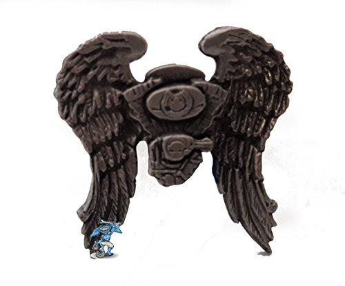 Daywalker Bikestuff Angel Wings Pin • Bikerpin • V Twin • Asphalt Angel • Engelflügel • Badge • Needle