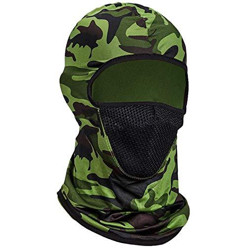 FHUILI Cara Protección del blindaje por un Hombre - a Prueba Viento del Sombrero del CS - Guardia Seguridad Industrial Careta protección Seguridad la Cara Llena Anti Fuerzas Careta Sombrero