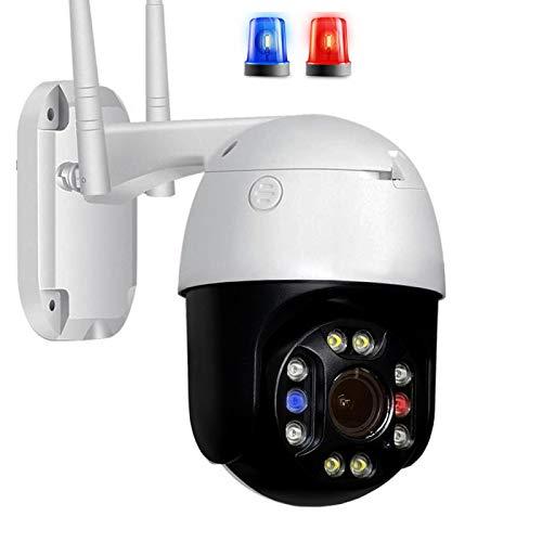 XIAOSHEN Cámara IP PTZ de 5MP Wifi al aire libre CCTV cámara de vigilancia de audio bidireccional alarma en tiempo real IP66 impermeable Soporte tarjeta SD ONVIF 5MP