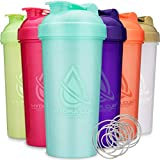Hydra Cup - [6 Pack] OG Shaker Bottles, 28-Ounce Max Value Blender Pack, Protein Shaker Cups, 6qty Stand Out Colors.
