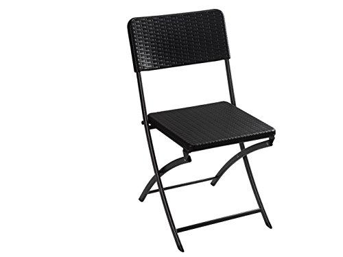 Toolland Sillas de jardín, silla de jardín, silla plegable