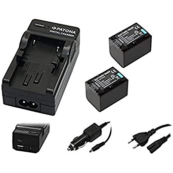 CAMCORDER Akku-Ladegerät MICRO USB für SONY Handycam HDR-CX115E